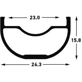 "NoTubes ZTR Crest MK3 Rueda Trasera 27.5"" Disco 6-Tornillos 12x148mm Boost SRAM XD"